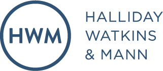 Halliday Watkins and Mann Logo
